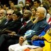 Junto ao público, que superlotou o Plenário José de Paiva Netto e o auditório Austregésilo de Athayde,alguns dos palestrantes acompanham aabertura do Painel Temático.