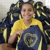 Rio de Janeiro, RJ:A campanha incentiva crianças a frequentarem a escola, proporcinando material de qualidade e contribuindo para a melhoria da autoestima e do desempenho escolar delas.