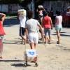RIO DE JANEIRO, RJ — Aentrega das cestas de alimentos beneficiou famílias de baixa renda do Jardim Gramacho e ONGs parceiras, a fim de minimizar situações como a pobreza, o desemprego,e a fome.
