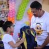 Natal, RN - Jornalista Luciano do Nascimento Costaprestigiou a entrega de material pedagógico às crianças atendidas na LBV