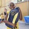 Cabo Frio, RJ - Por intermédio dessa iniciativa, a LBV beneficia com kits de material pedagógico e conjuntos completos de uniformes crianças, adolescentes e jovens de famílias de baixa renda em todo o Brasil.