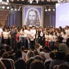 SÃO PAULO, SP —Ideal Ecumênico! Com a leitura do item XIV da Carta ao Jovem de Boa Vontade, de autoria do Irmão Paiva Netto, os Jovens Legionários pronunciam o Juramento de Fidelidade.