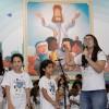Rio de Janeiro, RJ — No momento fraterno de estudo ecumênico, os Soldadinhos de Deus, da LBV, apresentaram ao público como Jesus os ensina a promover a tão necessária Paz.