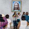 Jovens Ecumênicos da Religião Divina abrilhantam o evento com Música Legionária.