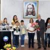 Durante a Cruzada do Novo Mandamento de Jesus de inauguação, os presentes vivenciaram momentos de grande felicidade e elevação espiritual.