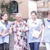 Há também as visitas a lares de vovôs e vovós, orfanatos e hospitais em parceria com o Departamento de Assistência Espiritual (DAE) da Religião do Terceiro Milênio.