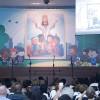 Rio de Janeiro, RJ —Muita unção espiritual durante a Sessão Solene que dá início ao 14° Fórum Internacional dos Soldadinhos de Deus, da LBV, com as palavras do Irmão Paiva Netto.