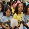 Duque de Caxias, RJ — Crianças participam de atividades do 17º Fórum Internacional dos Soldadinhos de Deus, da LBV.