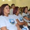Recife, PE — Famílias acompanham a sessão solenedo 42º Fórum Internacional do Jovem Ecumênico da Boa Vontade de Deus.