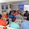 Santos, SP — Cristãos do Novo Mandamento de Jesusacompanhamas palavras do presidente-pregador da Religião Divina, José de Paiva Netto.