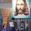 Campo Grande,RJ – Os Soldadinhos de Deus, forma carinhosa pela qual as crianças são chamadas na Religião do Amor Universal, se apresentam durante o evento e encantam a todos os presentes.
