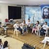 """Goiânia, GO — O14º Fórum Internacional dos Soldadinhos de Deus, da LBV, promove atividades em torno de seu tema:""""As crianças e a construção da Paz, pelo fim da violência!""""."""