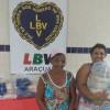 Araçuaí, MG — Famílias atendidas pela LBV no Vale do Jequitinhonha receberam cesta de alimentos neste período de pandemia.