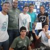 UBERLÂNDIA, MG — A Banda Despertar, de Belo Horizonte, MG, também participou do Festival Internacional de Música, da LBV.