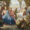 "The Wedding at Cana: Jesus Changes Water into Wine (The Gospel according to John 2:1-12). The fact that women were destined for a life of social obscurity did not erase their entrepreneurial initiatives and their opinions about what happened around them. Mary was not a mere spectator of the extraordinary Mission of Her Son and Master. She was at His side and took part in His journey. One of several examples is found in this passage in which Mary asks Him something, and Christ answered her: ""Woman, why do you involve me? My hour has not yet come"" (2:4). He needed to affirm that it was not yet the moment of His Mission. This is how He reveals to mankind that in performing the miracle, He was fulfilling the request of His mother's heart. May Mary's sentence always guide our Accomplishing Faith: ""Do whatever He tells you"" (2:5)."