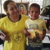 Santa Cruz de la Sierra, Bolivio — Ankaŭ okazas vizitoj al hejmoj de maljunuloj, al orfejoj kaj hospitaloj, kunlabore kun la Departemento por Spirituala Asistado de la Religio de la Tria Jarmilo.