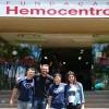 BRASÍLIA, DF — Jovens Militantes do Bem participam de atividade em valorização da vida, por meio da Doação de Sangue!
