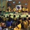 MONTES CLAROS, MG —Dentre as apresentações culturais do dia, as crianças dançaram a música tema do 16º Fórum, intitulada: