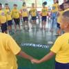 BELO HORIZONTE, MG —Por meio de atividades lúdicas e educativas, as crianças discutiram ações que promovam a vitória do Amor Fraterno, do Respeito e da Solidariedade em todos os âmbitos da vida.