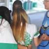 CHAPECÓ, SC — Jovens recebem o conforto das palavras fraternas e ecumênicas da Religião do Terceiro Milênio.
