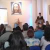 Petrópolis, RJ– Na manhã deste domingo, 20, famílias estudam sobre a Volta Triunfal de Jesus, durante o Encontro das Igrejas Familiares da Religião Divina.