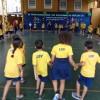SANTOS, SP — Dentre as apresentações culturais do dia, os Soldadinhos de Deus, da LBV, dançam a música tema do evento, intitulada: