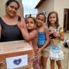 Araçuaí, MG — Famílias atendidas pela LBV no Vale do Jequitinhonha recebem cesta de alimentos, provenientes da campanha SOS Calamidades, neste momento de pandemia.