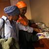 Integrantes da Delegação da República do Mali — Alido Camara (E), fundadora e presidente da Association de Médiation Interculturelle Euro-Afrique, e Marian Nian — conferem a revista BOA VONTADE Mulher, entregue a participantes da 63ª Sessão da Comissão sobre a Situação da Mulher, em Nova York, nos Estados Unidos.