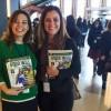 Na foto, parte da equipe da LBV, da esquerda para direita: Adriana Parmegiani e Sâmara Malaman.