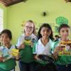 Irauçuba/CE - Por intermédio dessa iniciativa, a LBV beneficia com kits de material pedagógico e conjuntos completos de uniformes crianças, adolescentes e jovens de famílias de baixa renda em todo o Brasil.