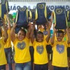 Ipatinga, MG - Na cidade mineira a alegria esteve presente na entrega dos kits pedagógicos da LBV.