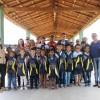 Irauçuba/CE - Ambrosina Almeida Rodrigues, diretora da Escola Municipal Pedro Rufino dos Santos, agradeceu os kits entregues aos alunos: