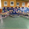 Santos, SP — Meninos e meninas exibem os kits pedagógicos que receberam da LBV, com o seu apoio, amigo (a) colaborador (a).