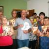 PETRÓPOLIS, RJ — Cruzada do Novo Mandamento de Jesusno Lar do casalMaria do Céu e Francisco Carlos Glizente.