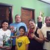 PETRÓPOLIS, RJ —Integrando os corações nos Divinos Ensinamentos do Cristo de Deus, Maria Jorgete Duarte da Silva e Jorge Luiz da Silva realiza a Cruzada do Novo Mandamento de Jesus no lar.