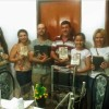 UBERLÂNDIA, MG —Família de Claudio Nogueira e Leda Maria durante Cruzada no Lar. O momento de grande aprendizado espiritual é sempre apreciado pelosCristãos do Novo Mandamento de Jesusem todo o Brasil e no exterior.