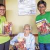 Ciudad del Este, Paraguay — El mensaje de la revista ¡JESÚS ESTÁ LLEGANDO! en español lleva fortaleza a los Hermanos del Hogar de Ancianos San Agustín.