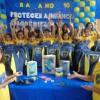 Ananindeua/PA - A campanha Criança Nota 10! disponibiliza aos atendidos kits de material pedagógico com cadernos, lápis de cor, canetas, dicionários e vários outros itens para o dia a dia na escola.