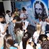 GOIÂNIA, GO – Jovens participam da cerimônia de juramento no 40º Fórum Internacional doJovem Ecumênico da Boa Vontade de Deus.