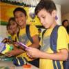 Sorocaba, SP — A alegria se fez presente na expressão de cada atendido beneficiado pela campanha Criança Nota 10 — Proteger a criança é acreditar no futuro!.