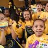 Belém/PA - A campanha serve de motivação para as crianças e os adolescentes prosseguirem com os estudos, além de representar um importante apoio aos pais que não têm recursos para adquirir o material escolar.