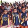 Santana/AP- A alegria se fez presente na expressão de cada atendido beneficiado pela campanha Criança Nota 10 — Proteger a infância é acreditar no futuro!.