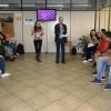 Uberlândia, MG - Os pregadores-ecumênicos da Religião Divina Adriano Tomaz e Héllen Pâmela ministraram a oficina das Famílias de Boa Vontade.