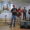 Uberlândia, MG - Os jovens Kamila Emerick e Mateus Gonçalves, de São José da Lapa, MG, interpretaram a composição