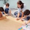 Americana, SP — Momento em que as crianças realizavam o trabalho de arte durante o 17º Fórum Internacional dos Soldadinhos de Deus, da LBV. =)
