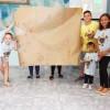 Americana, SP — As crianças apresentaram o trabalho realizado durante as atividades do 17º Fórum Internacional dos Soldadinhos de Deus, da LBV.