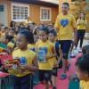 Montes Claros, MG -Neste ano, mais de 22 mil kits chegarão às mãos de estudantes das escolas da LBV, de meninas e meninos que participam dos programas nos Centros Comunitários de Assistência Social da Instituição e de atendidos por organizações parceiras dela.