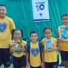 Montes Claros, MG - Os atendidos da LBVapresentam, com orgulho,os novos uniformes e materiais pedagógicos que compõem os kits da Campanha Criança Nota 10 - Proteger a infância é acreditar no futuro.