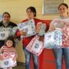 Itapeva SP, — As famílias da cidade de Itapeva sairam satisfeitas ao receberm os seus cobertores da Campanha