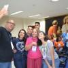 Recife, PE – Na oficina de Comunicação Criativa, os jovens aprenderam valiosas dicas de como se ter uma boa comunicação e como fazê-la para o Bem. Ao final, foto descontraída para o registro nas redes sociais com a #GeraçãoJesus.